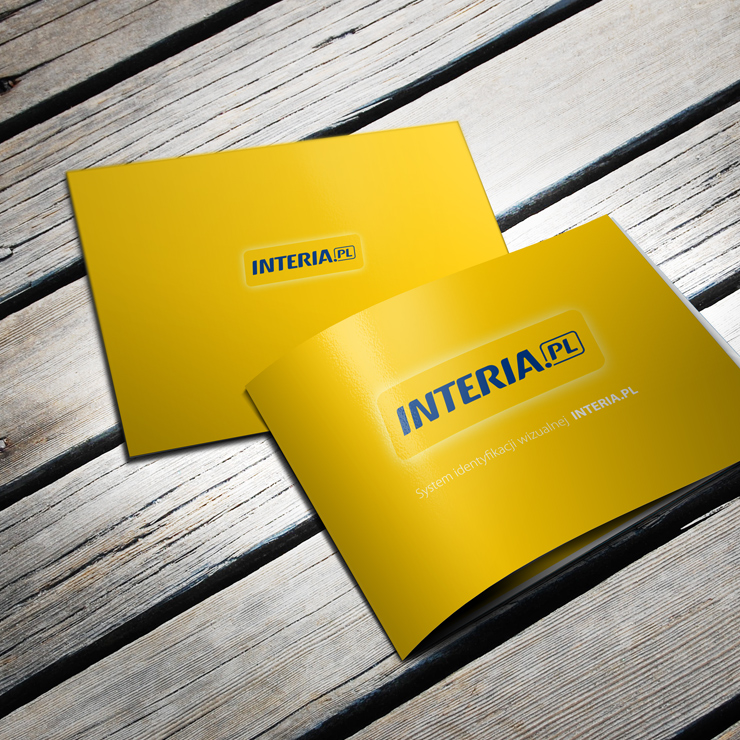 System identyfikacji wizualnej INTERIA.PL