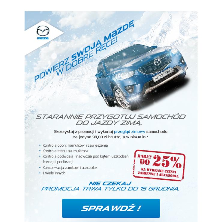 Mazda na zimę